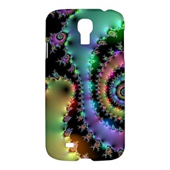 Satin Rainbow, Spiral Curves Through The Cosmos Samsung Galaxy S4 I9500/i9505 Hardshell Case by DianeClancy