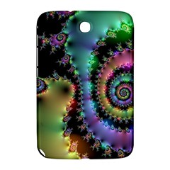 Satin Rainbow, Spiral Curves Through The Cosmos Samsung Galaxy Note 8 0 N5100 Hardshell Case  by DianeClancy