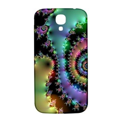 Satin Rainbow, Spiral Curves Through The Cosmos Samsung Galaxy S4 I9500/i9505  Hardshell Back Case