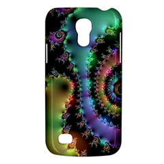 Satin Rainbow, Spiral Curves Through The Cosmos Samsung Galaxy S4 Mini (gt I9190) Hardshell Case  by DianeClancy