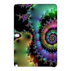 Satin Rainbow, Spiral Curves Through The Cosmos Samsung Galaxy Tab Pro 12 2 Hardshell Case by DianeClancy