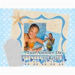 Summer By Summer Time    Wall Calendar 11  X 8 5  (12 Months)   Iex0m3cf6qdt   Www Artscow Com Month