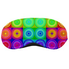 Rainbow Circles Sleeping Mask