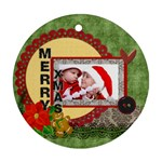 xmas - Ornament (Round)