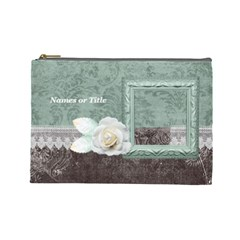 Chocolate Mint L  Cosmetic Bag By 4dannidesigns   Cosmetic Bag (large)   Y1ie3rr8034x   Www Artscow Com Front
