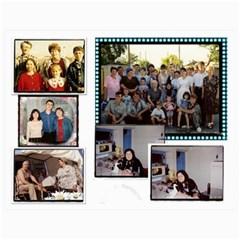 Big Family Calendar By Tania   Wall Calendar 11  X 8 5  (18 Months)   Qe1ihgoh5ps4   Www Artscow Com Month