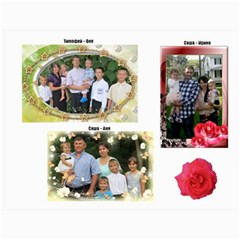 Big Family Calendar By Tania   Wall Calendar 11  X 8 5  (18 Months)   Qe1ihgoh5ps4   Www Artscow Com Oct 2014