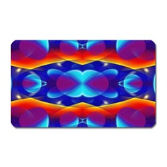 Planet Something Magnet (rectangular) by SaraThePixelPixie