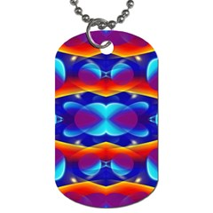 Planet Something Dog Tag (two Sided)  by SaraThePixelPixie