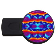 Planet Something 4gb Usb Flash Drive (round) by SaraThePixelPixie