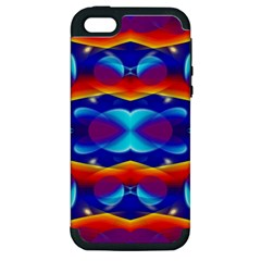 Planet Something Apple Iphone 5 Hardshell Case (pc+silicone) by SaraThePixelPixie