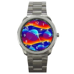Planet Something Sport Metal Watch by SaraThePixelPixie