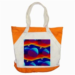 Planet Something Accent Tote Bag by SaraThePixelPixie