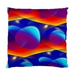 Planet Something Cushion Case (Single Sided)  by SaraThePixelPixie