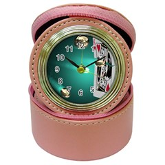 Bullets Shooting the King Card Jewelry Case Clock by DesignMonaco