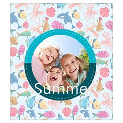 Summer By Summer Time    Drawstring Pouch (small)   Faz95f055k2d   Www Artscow Com Back