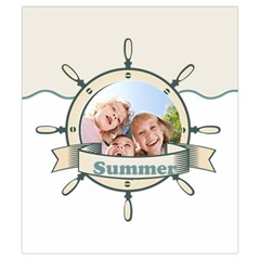 Summer By Summer Time    Drawstring Pouch (small)   Sdyym2ntdaj1   Www Artscow Com Back