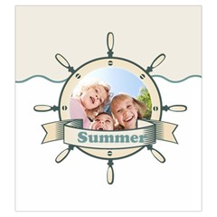 Summer By Summer Time    Drawstring Pouch (large)   Sfuio3z68puw   Www Artscow Com Front