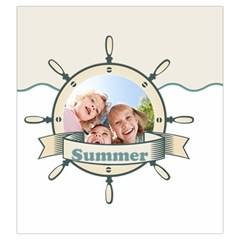 Summer By Summer Time    Drawstring Pouch (large)   Sfuio3z68puw   Www Artscow Com Back