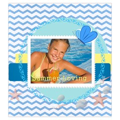 Summer By Summer Time    Drawstring Pouch (large)   Rde0img6dqfr   Www Artscow Com Back