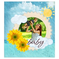 Summer By Summer Time    Drawstring Pouch (large)   U6myh9uee68v   Www Artscow Com Back