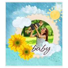 Summer By Summer Time    Drawstring Pouch (small)   Dj0fbywgp5co   Www Artscow Com Front