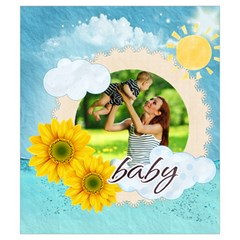 Summer By Summer Time    Drawstring Pouch (small)   Dj0fbywgp5co   Www Artscow Com Back
