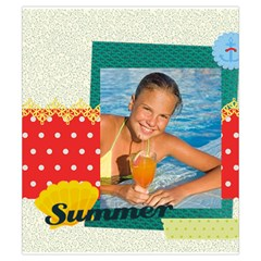 Summer By Summer Time    Drawstring Pouch (small)   25sza7v7fjjh   Www Artscow Com Front