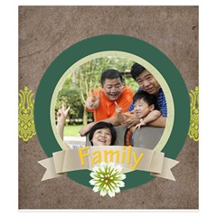 Family By Family   Drawstring Pouch (small)   Xdpzut6hfgw8   Www Artscow Com Front
