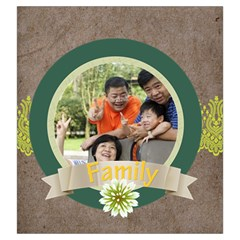 Family By Family   Drawstring Pouch (large)   Lcb00ni78pu5   Www Artscow Com Back