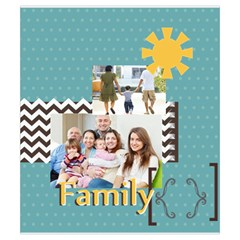 Family By Family   Drawstring Pouch (small)   8364flek4bqv   Www Artscow Com Front