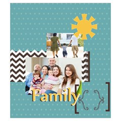 Family By Family   Drawstring Pouch (small)   8364flek4bqv   Www Artscow Com Back