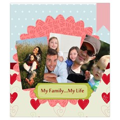 Family By Family   Drawstring Pouch (small)   Fixpsklpjk63   Www Artscow Com Front
