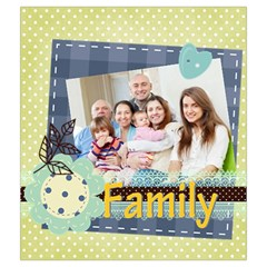Family By Family   Drawstring Pouch (medium)   Bch03qcdl13g   Www Artscow Com Back