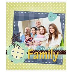 Family By Family   Drawstring Pouch (small)   Iuzo493ydxom   Www Artscow Com Front