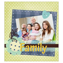 Family By Family   Drawstring Pouch (large)   To7q9yzrjme2   Www Artscow Com Back