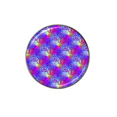 Rainbow Led Zeppelin Symbols Golf Ball Marker 10 Pack (for Hat Clip) by SaraThePixelPixie