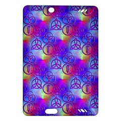 Rainbow Led Zeppelin Symbols Kindle Fire Hd 7  (2nd Gen) Hardshell Case by SaraThePixelPixie