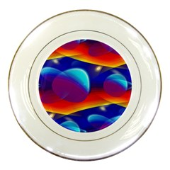 Planet Something Porcelain Display Plate by SaraThePixelPixie