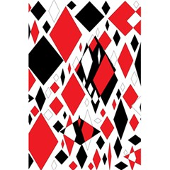 Distorted Diamonds In Black & Red Notebook by StuffOrSomething