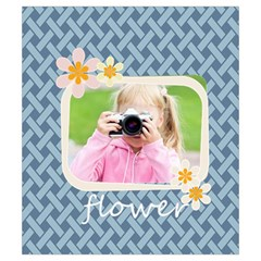 Flower By Joely   Drawstring Pouch (small)   Fgtlam497sx3   Www Artscow Com Back