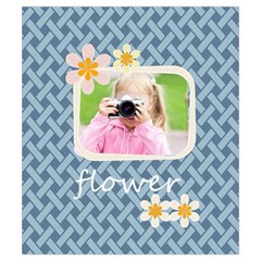 Flower By Joely   Drawstring Pouch (small)   Pojb24bzpqug   Www Artscow Com Front