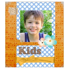 Flower Kids By Joely   Drawstring Pouch (medium)   7ceoy6lysmgd   Www Artscow Com Back