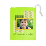 flowe kids - Drawstring Pouch (Large)