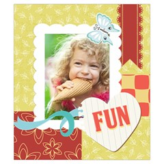 Kids, Play, Family, Fun, Happy, Nice By Kids   Drawstring Pouch (small)   7pez4m8dlr83   Www Artscow Com Front