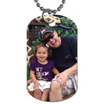 daddy and baby - Dog Tag (One Side)