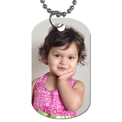 Ntalie By Jalpa   Dog Tag (one Side)   Nwm5zp2iexip   Www Artscow Com Front