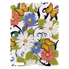 Floral Fantasy Apple Ipad 3/4 Hardshell Case by R1111B