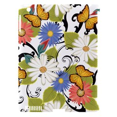 Floral Fantasy Apple Ipad 3/4 Hardshell Case (compatible With Smart Cover) by R1111B