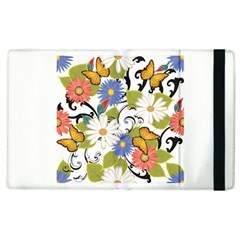 Floral Fantasy Apple Ipad 3/4 Flip Case by R1111B